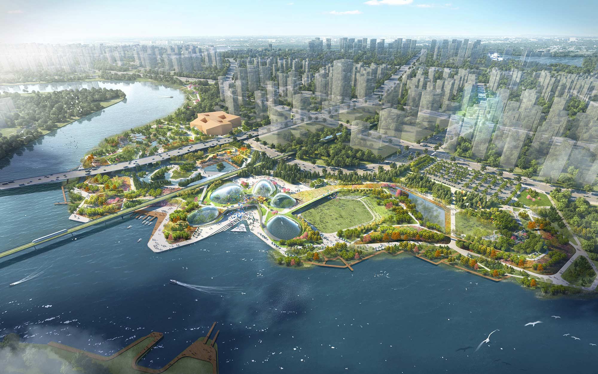 Tianjin Eco City - Innoplan