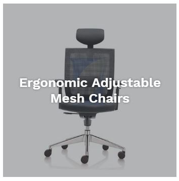 Buy Ergonomic Adjustable Mesh Chair Singapore
