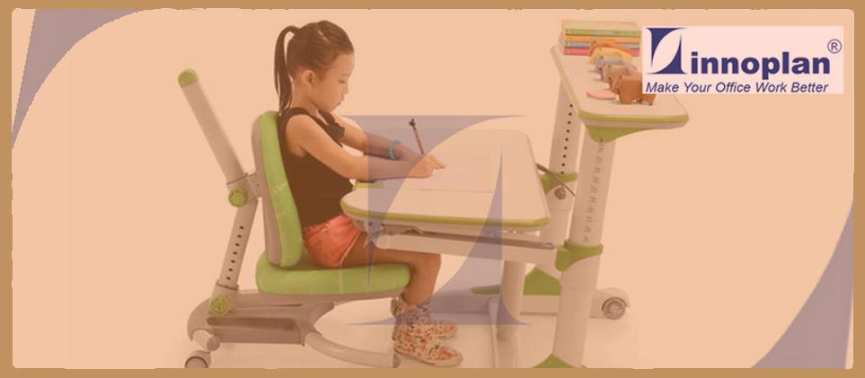 Ergonomic Children Study Table Set