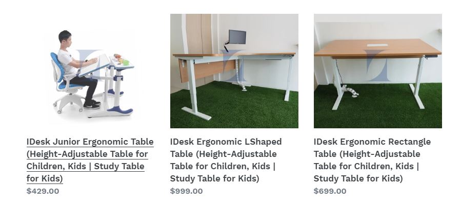 Buy Study Table Singapore Ergonomic Children Study Table Singapore